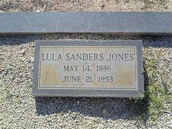 Lula <I>Sanders</I> Jones