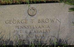 George T Brown