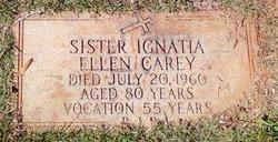 Sr Ignatia Ellen Carey