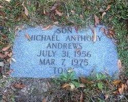 """Michael Anthony """"Tony"""" Andrews"""