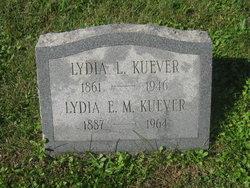 Lydia L Kuever