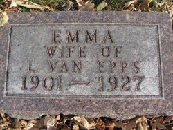 Emma <I>Christoffels</I> Van Epps
