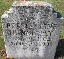 Bessie Jane Nunnelley
