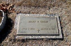 Mary Virginia <I>Martin</I> Crow