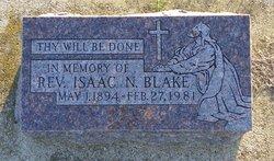 Rev Isaac N. Blake