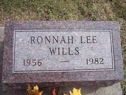 Ronnah Lee <I>Oliver</I> Wills