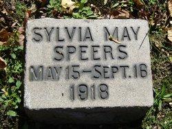 Sylvia May Speers