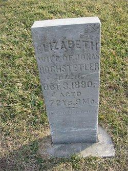 Elizabeth <I>Miller</I> Hochstetler