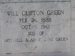 Will Clifton Green