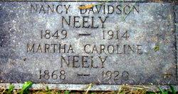 Martha Caroline Neely