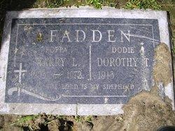"""Herschel L """"Harry"""" Fadden"""