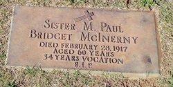 Sr M.Paul Bridget McInerny