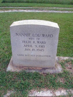 Nannie Lou <I>Cates</I> Ward