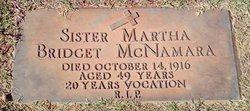 Sr Martha Bridget McNamara