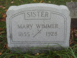 Mary Wimmer
