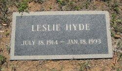 Leslie Hyde
