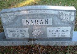 "William John ""Bill"" Baran"