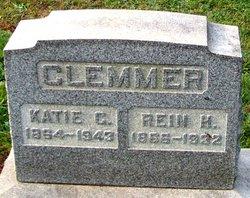 """Catharine G. """"Katie"""" <I>Alderfer</I> Clemmer"""