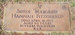 Sr Margaret Hannah Fitzgerald