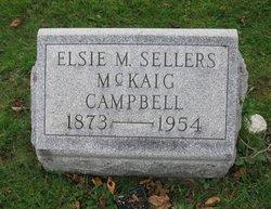 Elsie M. <I>Sellers</I> Campbell
