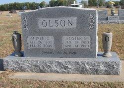 Moree Cecil <I>Black</I> Olson