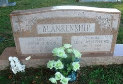 Lucy <I>Weatherford</I> Blankenship