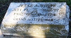 Jesse A White
