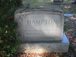 Anna Edith <I>Boitano</I> Hampton