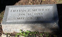 Lillian P <I>Hudgins</I> Murray