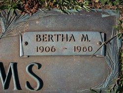 Bertha May <I>Bishop</I> Adams