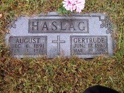 Mary Gertrude <I>Stiefermann</I> Haslag