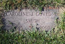Caroline J <I>Smith</I> Govednik