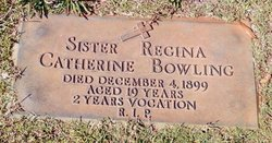 Sr Regina Catherine Bowling