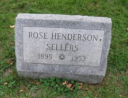 Rose <I>Henderson</I> Sellers