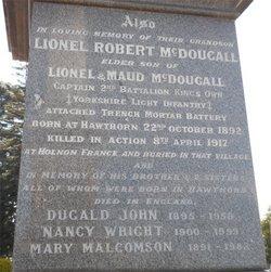 Lionel Robert McDougall