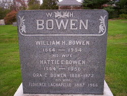 Florence <I>Lachapelle</I> Bowen
