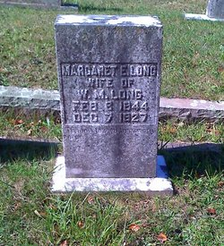 Margaret Elizabeth <I>York</I> Long