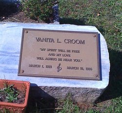 Leona Vanita <I>Lyda</I> Croom