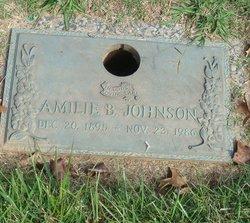 Amilie <I>Blume</I> Johnson