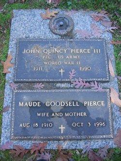 John Quincy Pierce, III