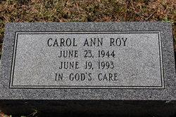 Carol Ann Roy