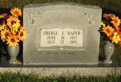 Oberia J. Raper