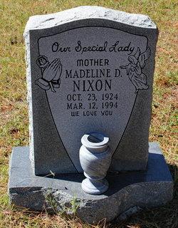 Madeline D Nixon