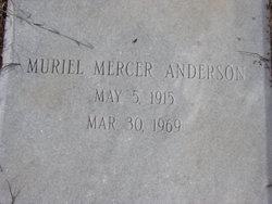 Muriel <I>Mercer</I> Anderson