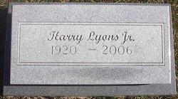 Harry Lyons, Jr