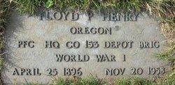 Floyd P Henry