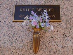Ruth F. Belcher