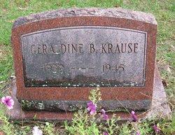 Geraldine Bernice Krause