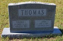 Virginia L Thomas