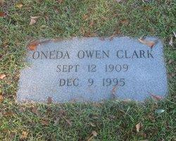 Oneda <I>Owen</I> Clark